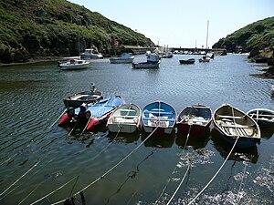 Porthclais - Porth Clais harbour