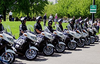 Portland Police Bureau - Portland Police traffic officers.
