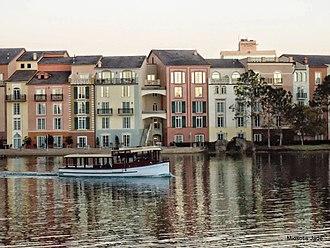 Loews Portofino Bay Hotel at Universal Orlando - Image: Portofino Bay Hotel, Universal