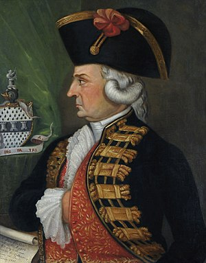 Osorno, Chile - Gen. Ambrosio O'Higgins, founder and Marquis of Osorno