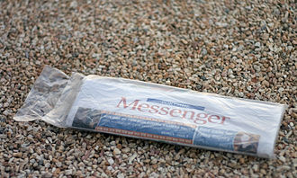 Messenger Newspapers - A copy of the Messenger.