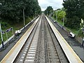 Portsmouth Direct Line towards the southwest from Liphook Railway Station, Hampshire, England 8.jpg