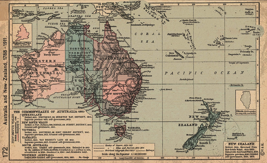 Map Of Australia New Zealand And Fiji.List Of Proposed States Of Australia Wikipedia
