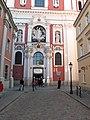 Poznan, colegiate church fasade.JPG