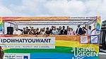 Präsentation Paradetruck Jugend gegen AIDS zur ColognePride 2018 am Köln Bonn Airport-7268.jpg