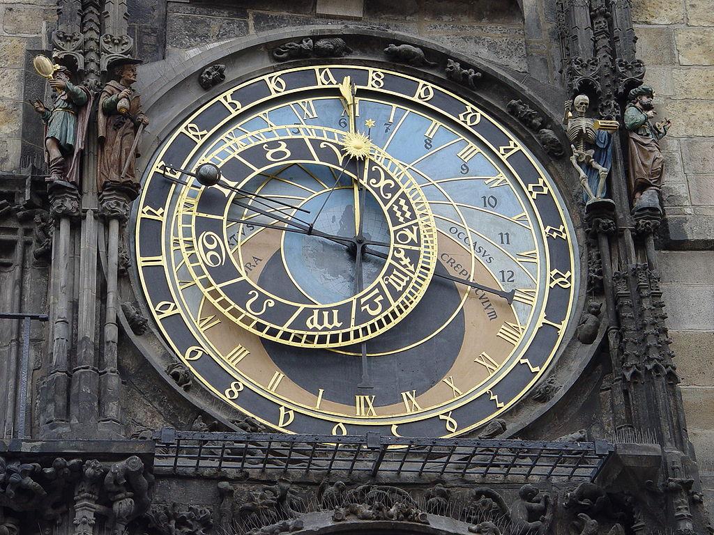 File Prague Astronomical Clock Detail 1 Jpg Wikimedia Commons