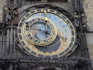 Prague - Astronomical Cock Detail