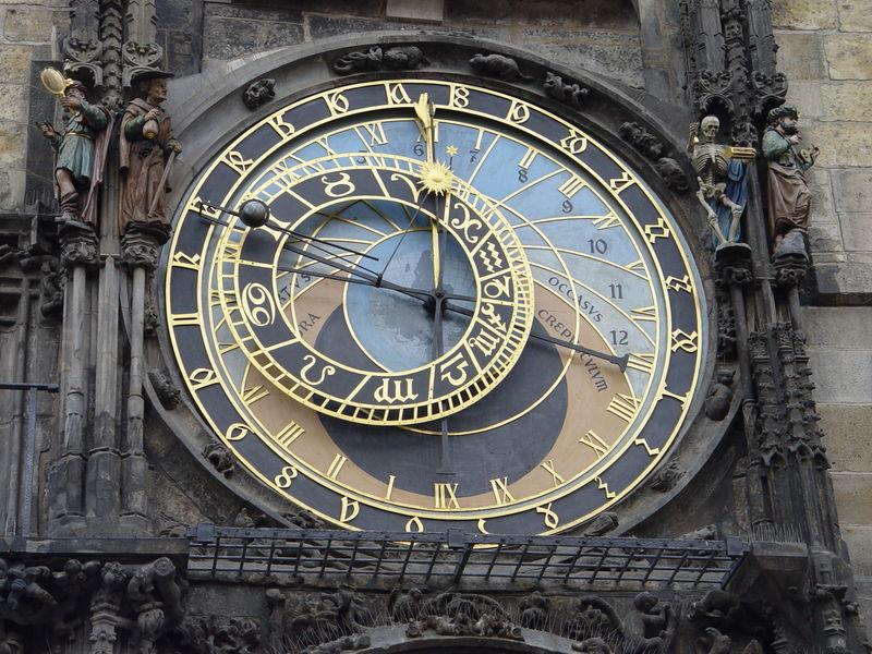 File:Prague - Astronomical Clock Detail 1.JPG