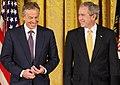 President George W. Bush Presents the Presidential Medal of Freedom to Prime Minister Tony Blair.jpg