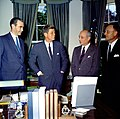 President John F. Kennedy Meets with Officials from Argentina 02.jpg