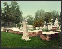 Presidents row, old Princeton burying ground-LCCN2008679656.tif