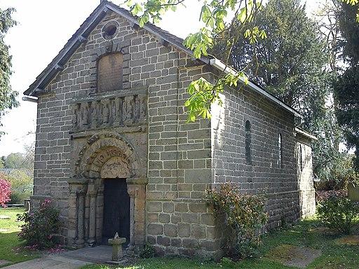 Prestbury Norman Chapel
