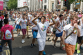 Pride in London 2016 - Gay Men's Dance Company in the parade 2.png