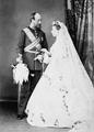 Prince Christian and Princess Helena at her wedding.png