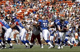 Larry Allen - Image: Pro Bowl 2007 action