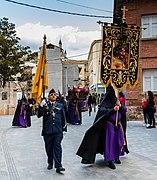Procesión del Santísimo Cristo de la Paz en Jueves Santo, Calatayud, España, 2018-03-28, DD 09.jpg