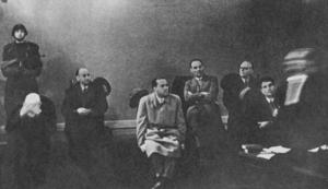 Galeazzo Ciano - Ciano trial in Verona, 1944.