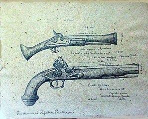 Proclamação da República de Piratini (Estudo de Armas)