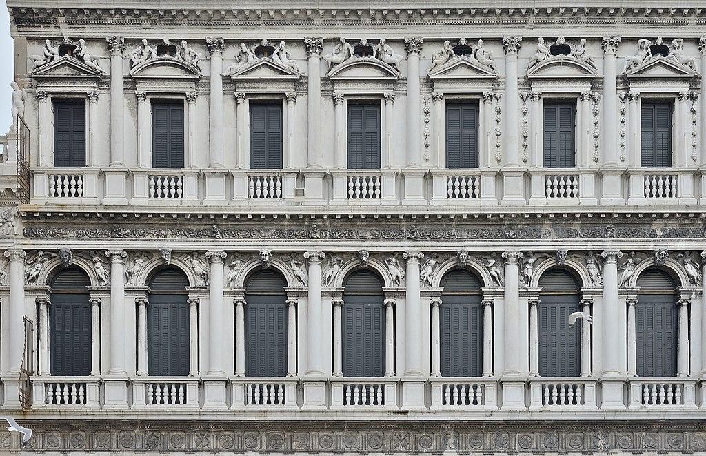 File:Procuratie nuove a Venezia dettaglio facciata.JPG - Wikimedia ...