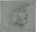 Profile head of a man looking right MET DP805723.jpg