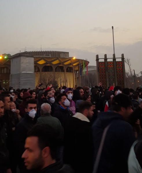 File:Protests against corruption and government in Tehran, 2017-12-30.png