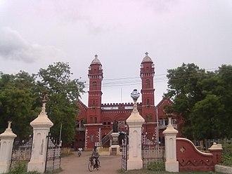 Pudukkottai - The district court of Pudukkottai