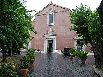 San Pancrazio - Basilica of San Pancrazio, facade
