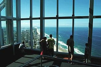 Q1 (building) - Q1 observation deck view