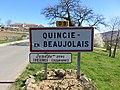 Quincié-en-Beaujolais - Panneau entrée (mars 2019).jpg