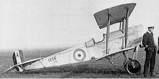 RNAS Bristol Scout C with Rear Oil Tank