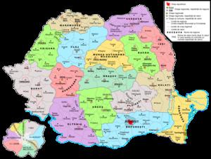Magyar Autonomous Region - The regions of Peoples' Republic of Romania between 1960-1968.