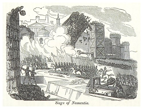 Engraving of the Siege of Numantia RUSSELL(1854) p182 Siege of Numantia.jpg