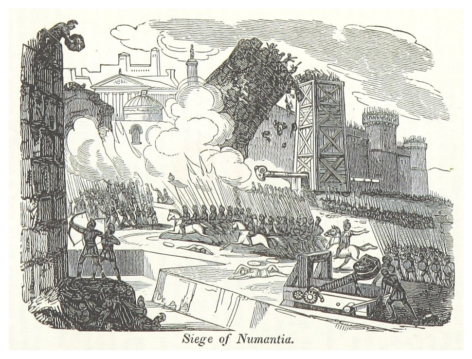 RUSSELL(1854) p182 Siege of Numantia