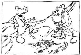 The Town Mouse and the Country Mouse - Wikipedia