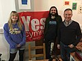 Radio Yes Cymru Tach2018 Esyllt Sears, Steffan Alun, Siôn Jobbins.jpg
