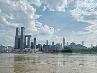 Raffles City Chongqing from Yangtze River.jpg