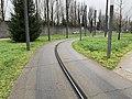 Rails Tramway IdF Ligne 6 Accès Site Maintenance - Vélizy-Villacoublay (FR78) - 2021-01-03 - 2.jpg