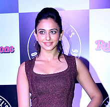 Rakul Preet at Jack Daniels Rock Awards 2014.jpg