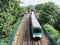 Rame Métro Pont ferroviaire Ligne 8 Métro Paris Charenton Pont 6.jpg