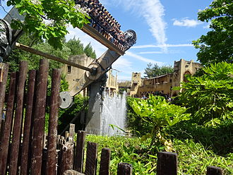 Chessington World of Adventures - Rameses Revenge.