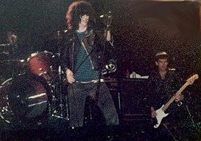 Joey Ramone e Dee Dee Ramone in concerto a Seattle nel 1983