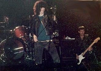 Ramones - Joey and Dee Dee Ramone in concert, 1983
