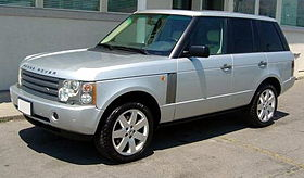 Range Rover  L322 on gallivanter baller
