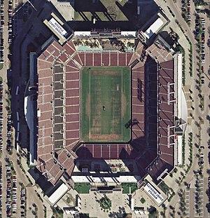 Super Bowl LV - Image: Raymond James Stadium aerial