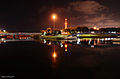 Reading - A View from the Yarkon Park at Night.JPG