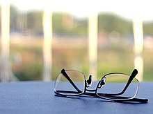 88a709427221 Typical pair of single vision glasses