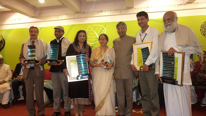 Recipants of SAARC Literary Award 2013.jpg