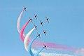 Red Arrows - RIAT 2007 (2981239075).jpg