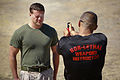 Red in the face, Marines endure pepper spray training 131001-M-XZ164-268.jpg
