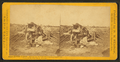 Red river carts, Indians and half breeds on trading expedition, carts constructed wholly of wood, by R. N. Fearon.png
